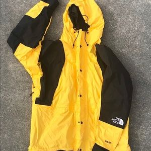 North Face Gore Tex Yellow Mountain Guide Jacket